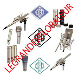 Ultimate Neumann Microphone Operation Repair Service Manual And Schematics On Dvd