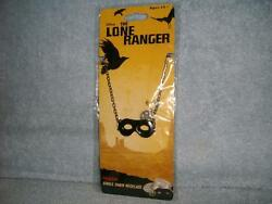 The Lone Ranger Texas Mask Necklace Prop Cosplay Costume Disney Neca 2013