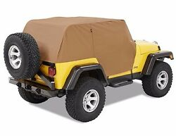 Smittybilt Custom Fit Spice Cab Cover With Door Flaps For 92-06 Jeep Wrangler