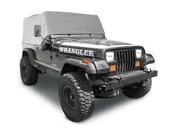 Smittybilt Gray Custom Fit Cab Climate Cover For 1987-1991 Jeep Wrangler YJ
