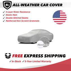 All-weather Car Cover For 1992 Mitsubishi Mirage Sedan 4-door