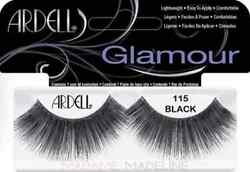 (LOT OF 72) Ardell Glamour Lashes #115 Fake False Lash LONG Black Eyelashes