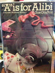 A Is For Alibi 1st By Sue Grafton Signed Twice On Title Page
