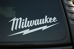 Milwaukee Power Tools Sticker Vinyl Decal Sawzall Choose From 4 To 36 V433