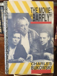 Charles Bukowski The Movie Barfly 1/26 1st Signed By The Cast