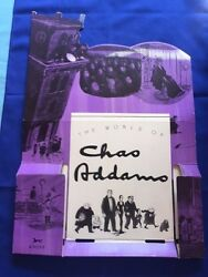 The World Of Charles Addams - Promotional Easel For The Book