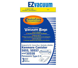 Kenmore/sears Style C 50555055750558 Canister Vacuum Cleaner Bags