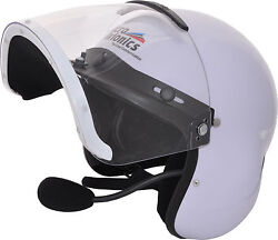 Microavionics Integral Helmet With Built-in Headset. Lynx Compatible Flycom Type