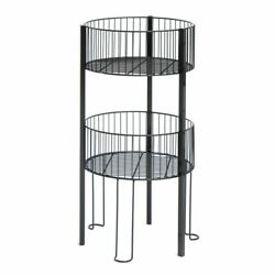 Stackable Wire Bins With Metal Construction, 77157