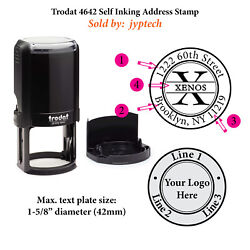 Personal 4642 Self Inking Address Stamp or Monogram for Business $29.95