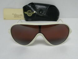 New Vintage Bandl Wings White Rose Bausch And Lomb Aviator Usa