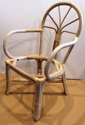 Set Of 40 Unfinished Rattan Arm Chairs, 45 Each