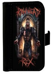 RAWHEAD REX SAMSUNG GALAXY iPHONE CELL PHONE CASE LEATHER COVER WALLET $19.99