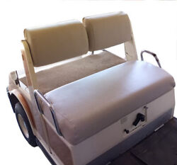 Yamaha G2 / G9 Staple On Golf Cart Seat Cover Only For G-2 / G-9-solid Color