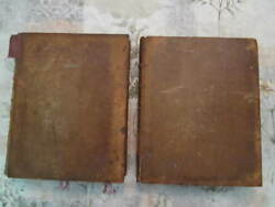 Very Rare Dictionary Of Chemistry And Mineralogy 1807 Aikin Vintage 2 Volumes