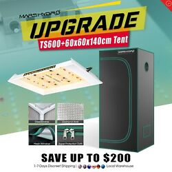 Mars Hydro Ts 600w Led Grow Light Veg Flower Plant +2and039x2and039 Indoor Grow Tent Kit