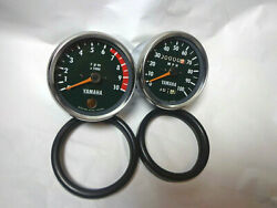 1973 Yamaha Rt3 360 Tachometer And Speedometer Nos Style, We Have It In Stock