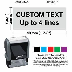 Custom For Deposit Only Stamp Trodat 4912 Self inking Rubber Stamp $16.95
