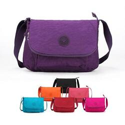Women Crossbody Bag Unisex Small Ladies Shoulder Bag Messenger Nylon