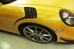 Frp Guard Fit For 12-14 Porsche 911 991 Carrera Rs-style Front Fender
