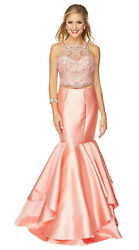 SEMI FORMAL TWO PIECE PROM DRESS SHORT SPECIAL OCCASION EVENING GOWN PROM DANCE  $189.99