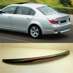 Painted Color For Bmw E60 P Type High Kick Trunk Spoiler 2004-2010