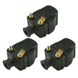 3 Pack Mercury Ignition Coil Sportjet 175/210 And 3-225 Hp Outboard 339-832757a4