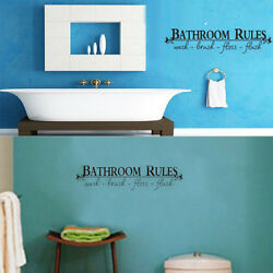 New  Removable Room Art DIY Wall Sticker Mural Home Decal Decor For Bathroom