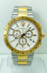 Versace Men's Vfg130015 Mystique Sport Two-tone Ip4n And Stainless Steel Watch