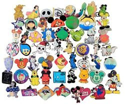 Disney Pin Trading 40 Assorted Pin Lot Brand NEW Pins No Doubles Tradable $24.45