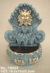 Feng Shui Tabletop Water Fountain With Lion Head