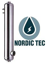 Stainless Steel Swimming Pool Heat Exchanger All Models Nordic Tec 88-704kw