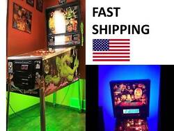 Simpsons Pinball Party Pinball Machine Mod Color Changing Led Light Kit Part