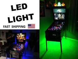 Evil Knievel Pinball Machine Mod Color Changing Led Light Part