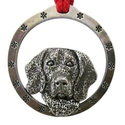Creative Pewter Designs Hand-made Beagle Holiday Ornament D022OR