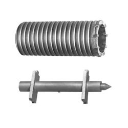 Relton Hammer Core Bits Core Body And Starter Point With 4-1/2 Diameter