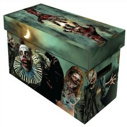 10 Bcw Short Cardboard Comic Book Storage Boxes With Zombies Art Design Box