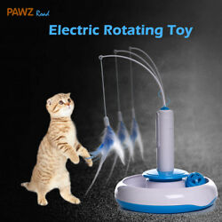 Pet Puppy Cat Electric Toys Teaser Interactive Cats Rotating designed Funny Toy