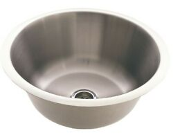 Everhard Circo Stainless Steel Single Bowl Sink With Plug And Waste- 6,9,15 Or 36l