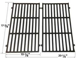 Cast Iron Cooking Grates For 46010074,46010674,46100001,46110001 Models Set Of 2
