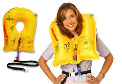 Eam Uxf-35 Aviation Life Vest 10 Year - With Whistle New