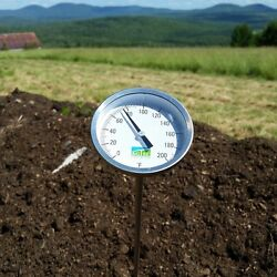 Agtec Heavy Duty Fast Response Compost Thermometer 72in 0-200anddegf