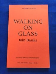 Walking On Glass - First American Uncorrected Proof By Iain Banks