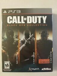 Call Of Duty Black Ops Collection Ps3 New Playstation 3 Brand New Sealed