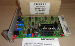 Vickers Eea-pam-513-a-14 Power Amplifier Card Eeapam513a14 New