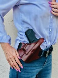 Falco Owb Leather Holster For Beretta 92fs