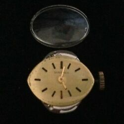 Vtg Longines Womens Watch 5602 Movement 17 Jewel With Crystal 53652408