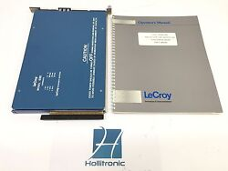 Lecroy Camac 4301 Fera System Driver Fast Encoding And Readout Adc W/ Manual