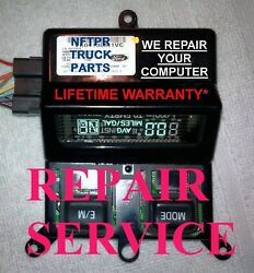 🔥99 04 Ford Overhead Console Temperature Compass Computer Display Repair Onstar