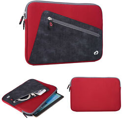 Neoprene Sleeve Cover Carrying Case For 9.5- 11.5 Tablet With Padded Interior